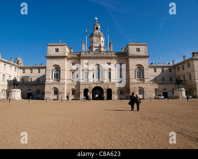 Horse Guards Parade Whitehall London - Stock Image