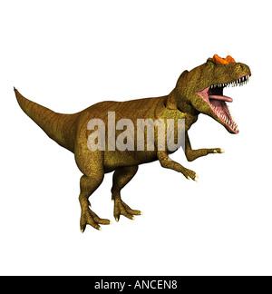dinosaur Allosaurus - Stock Image