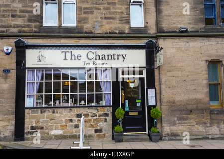 The Chantry Tea Rooms Morpeth Nuthumberland - Stock Image
