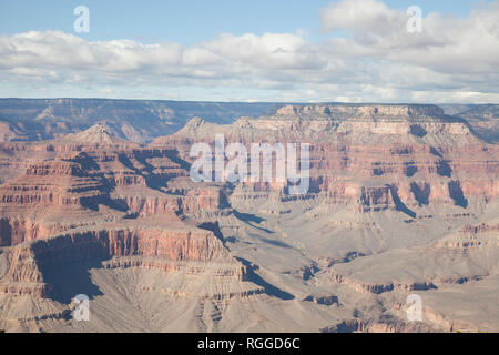 view of the Grand Canyon from powell point - Stock Image