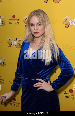 Celebs attend gala evening for Dolly Parton's 9 to 5 The Musical  Featuring: Joanne Clifton Where: London, United Kingdom When: 17 Feb 2019 Credit: Phil Lewis/WENN.com - Stock Image