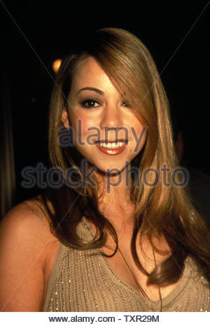 Mariah Carey At The Premiere Of Good Will Hunting At The Ziegfeld Theatre New York City 12-04-1997. Credit: 3765585Globe Photos/MediaPunch - Stock Image