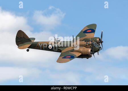 Bristol Blenheim RAF light bomber - Stock Image