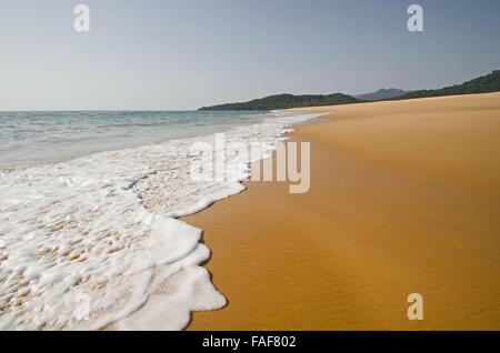 John Obey beach, Sierra Leone. - Stock Image