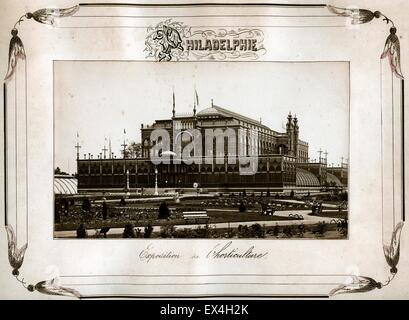 Agriculture Building, Philadelphia Centennial Exposition, 1876 - Stock Image