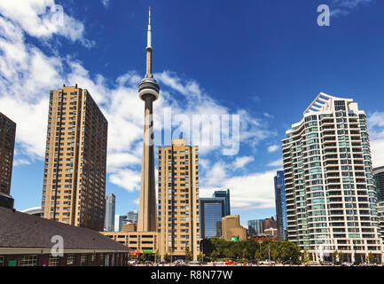 Waterfront at Toronto - Stock Image