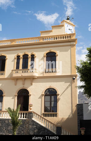 The town hall or Ayuntamiento in Adeje, Tenerife, Canary Islands. - Stock Image