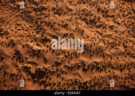 Namibia, Namib Desert, aerial view - Stock Image