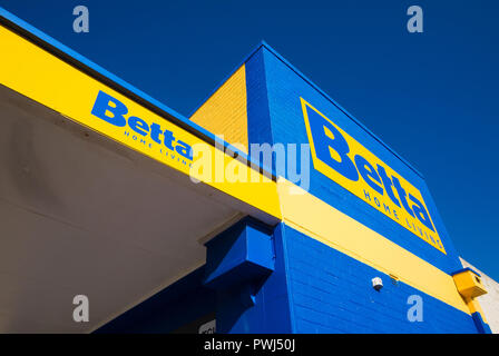 Betta Home Living store in Kingscote, Kangaroo Island, Australia - Stock Image