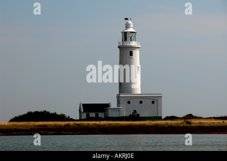 Lighthouse Hurst Point England - Stock Image