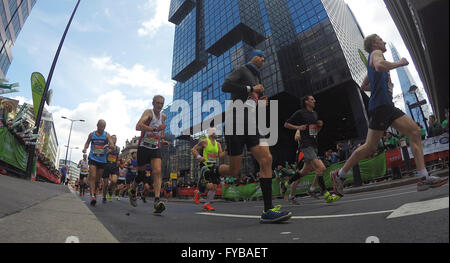 London, UK. 24th April, 2016. The Virgin London Marathon Fun and charity runners Credit:  Leo Mason sports photos/Alamy - Stock Image