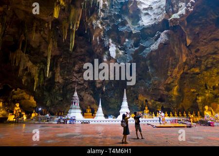 Khao Luang Cave, Phetchaburi, Thailand - Stock Image