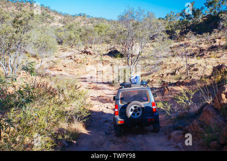 4WD in Outback Australia - Stock Image