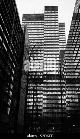 Office Buildings, Euston road, London - Stock Image