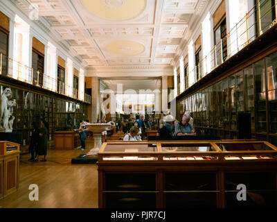 Enlightenment Gallery formerly the The King's Library gallery, The British Museum, London, England - Stock Image