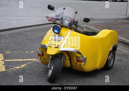 disabled motorbike, England, UK - Stock Image