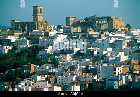 Spain Arcos de la Frontera pueblo blanco white village - Stock Image