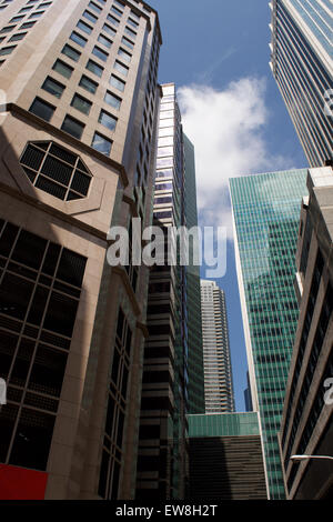 Singapore Highrise - Stock Image