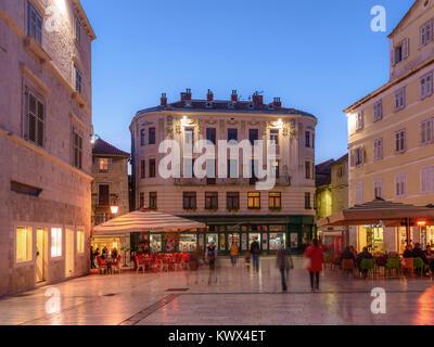 Piazza Heritage Hotel, Narodni Trg, Split, Croatia - Stock Image