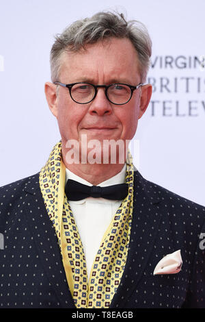 LONDON, UK. May 12, 2019: Alex Jennings arriving for the BAFTA TV Awards 2019 at the Royal Festival Hall, London. Picture: Steve Vas/Featureflash - Stock Image