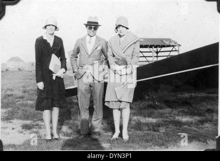 AL009B 172 Amelia Earhart Hicksville Aviation Country Club, Hicksville, NY - Stock Image