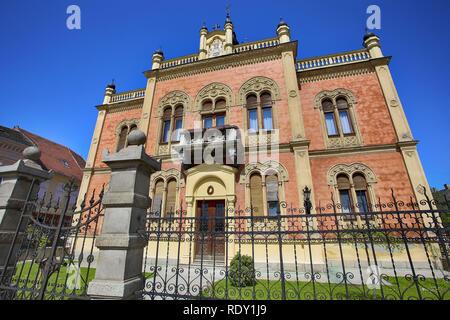 Vladicin Court Palace of Bishop in Novi Sad, Serbia - Stock Image