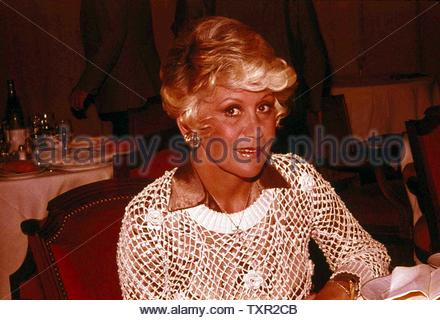 Rona Barrett 1978 Credit: 3905663Globe Photos/MediaPunch - Stock Image