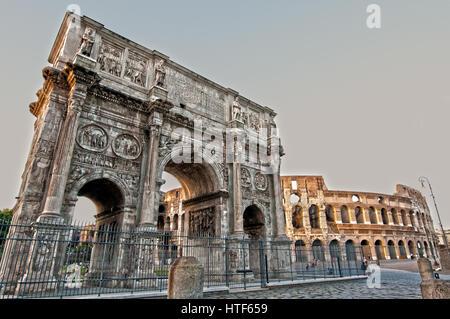 Colosseum Rome - Stock Image