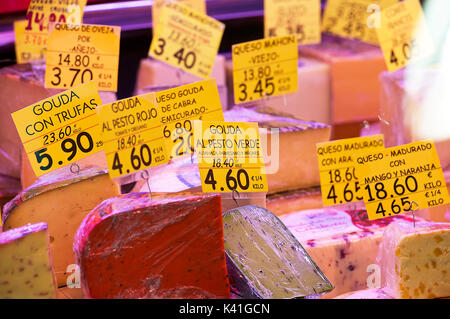 Cheese,Seville,Spain - Stock Image