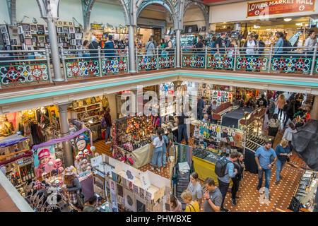 Market Hall,Camden Market,Camden,London,England,UK - Stock Image