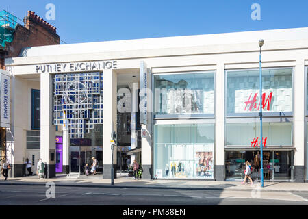 Exchange Shopping Centre, Putney High Street, Putney, London Borough of Wandsworth, Greater London, England, United Kingdom - Stock Image