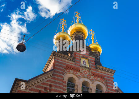 Alexander Nevsky Church in Copenhagen, Denmark - Stock Image
