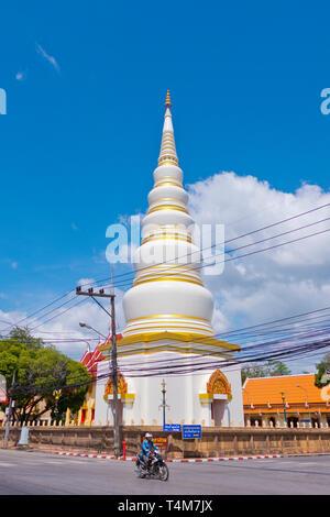 Stupa, Wat Tantiya Phirom, Trang, Thailand - Stock Image