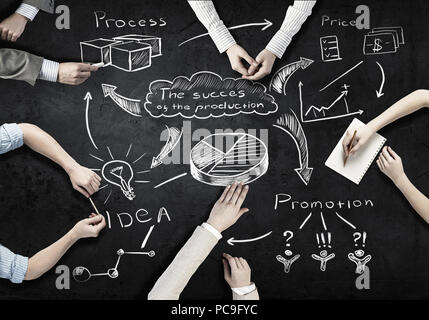 business,planning,strategy,project management - Stock Image
