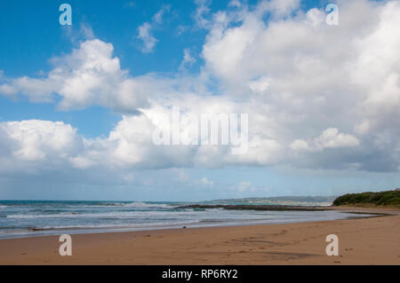 Ocean beach near Skenes Creek on the Great Ocean Road, Victoria, Australia - Stock Image