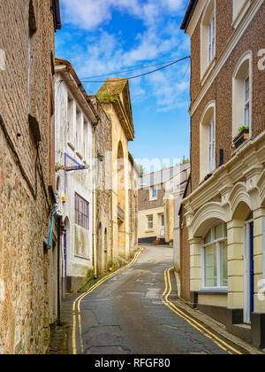 North Street, St Austell, Cornwall, UK - Stock Image
