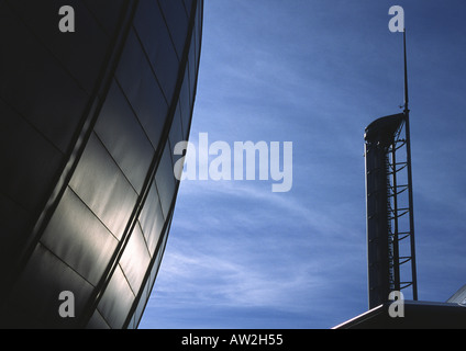 Glasgow Science Centre on the river clyde, Scotland - Stock Image