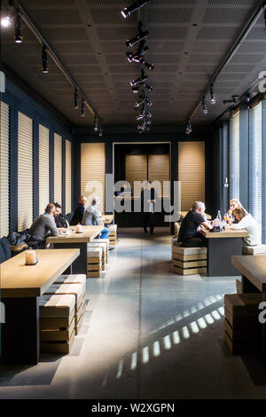 Italy, Lombardy, Milan, Armani Silos art gallery and museum - Stock Image