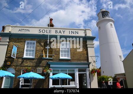 Southwold Seaside Resort in Suffolk, UK - Stock Image