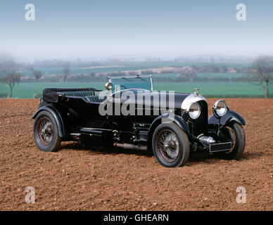 1927 Bentley 6.5 litre 4 seat tourer - Stock Image