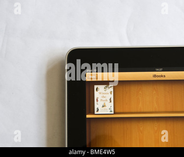Winnie-the-Pooh Book was freely available on the Apple iPad when released. The iPad's main selling point was - Stock Image