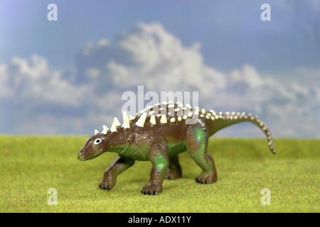 Ankylosaurus - Stock Image