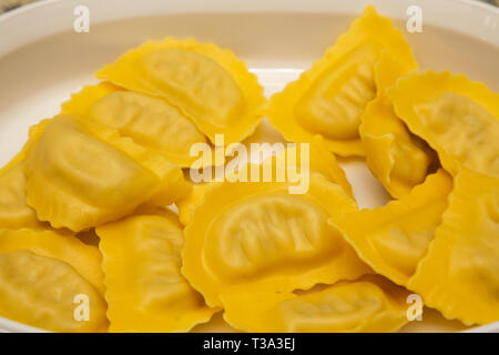 Ravioli Pasta in Casserole - Stock Image