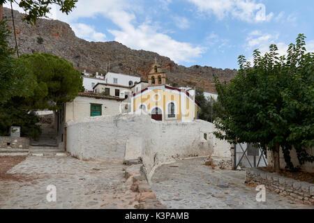 Agios Dimitrios church at Hydra - Stock Image