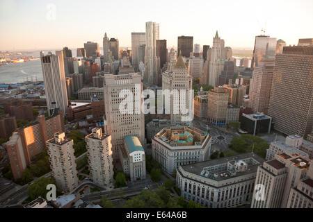 Lower Manhattan, Financial District, New York, USA - Stock Image