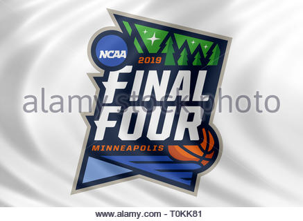 NCAA Basketball Tournament logo - Stock Image