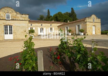 chateau trottevieille saint emilion bordeaux france - Stock Image
