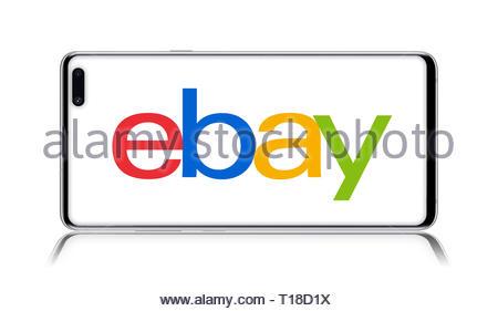 Ebay logo - Stock Image
