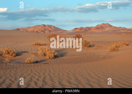 Aird landscape in Yazd desert, southern Iran - Stock Image