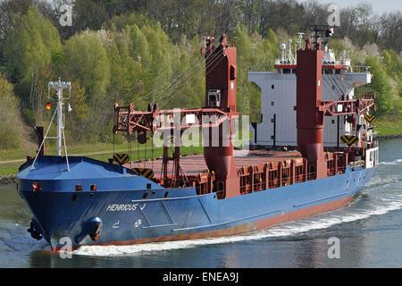 Heavy Lift vessel Henricus J - Stock Image